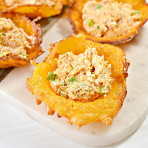 Easy Keto Buffalo Chicken Cheese Cups – Best Homemade Low Carb Buffalo Chicken Cheese Cup Recipe – Finger Food – Appetizers – Snacks – Party Food – Quick – Simple