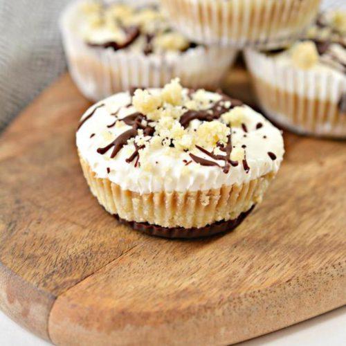 Keto Cheesecake – BEST Low Carb Keto Twix Caramel Cheesecake Cups– Easy – Snacks – Desserts – Keto Friendly & Beginner