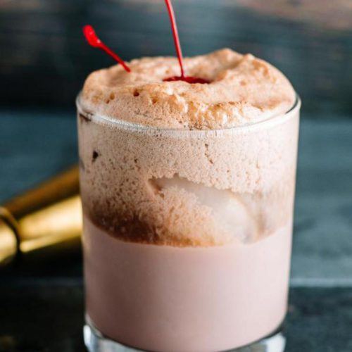 Alcoholic Drinks – BEST Cherry Chocolate Float Cocktail Recipe – Easy and Simple Alcohol Drinks