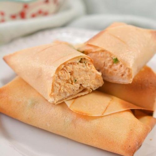 BEST Keto Egg Rolls – EASY Low Carb Keto Buffalo Chicken Egg Roll With Wrapper Recipe – Tasty Keto Appetizers – Dinner – Lunch – Side Dishes – Party Finger Foods