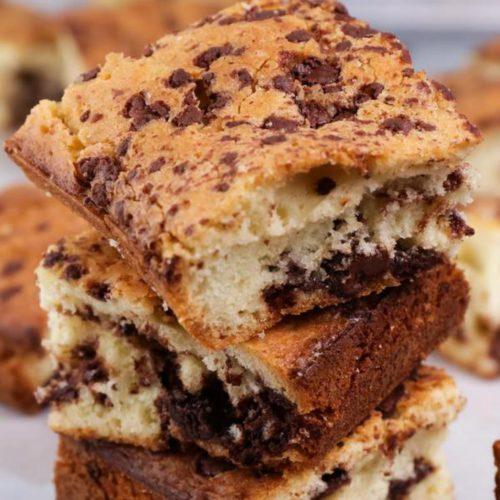 Gluten Free Cookie Bars – BEST Gluten Free Chocolate Chip Cookie Bars Recipe – Desserts - Snacks