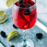 Keto Margarita - BEST Low Carb Blackberry Champagne Margarita Recipe - EASY Ketogenic Diet Alcohol Drink Mix You Will Love