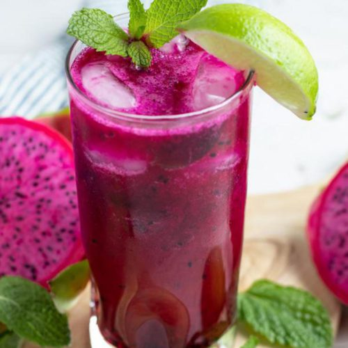 Alcoholic Drinks – BEST Dragonberry Mojito Cocktail Recipe – Easy and Simple Rum Cocktail Alcohol Drinks