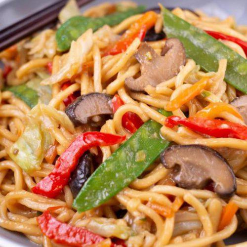 BEST Gluten Free Lo Mein Recipe – Lunch – Dinner