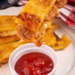 BEST Keto Grilled Cheese Pizza Sticks – Low Carb Keto Grilled Cheese Pizza Recipe – 90 Second Microwave Bread For Easy Ketogenic Diet - Gluten Free