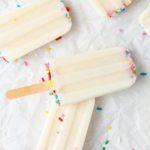 BEST Rainbow Cake Batter Popsicles! EASY Birthday Cake Popsicle Recipe – Simple Desserts – Snacks – Kids Parties