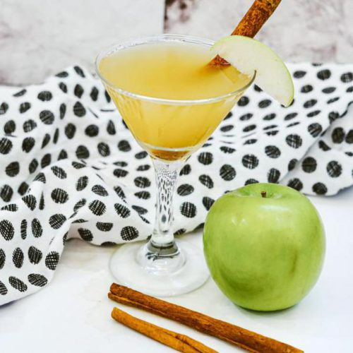 Alcoholic Drinks – BEST Vodka Apple Martini Cocktail Recipe – Easy and Simple Alcohol Drinks