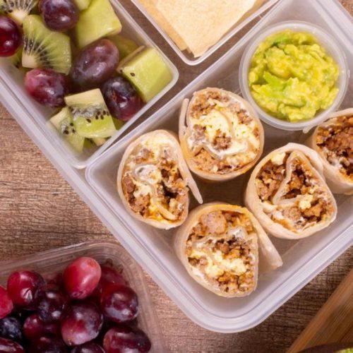 Easy Healthy School Lunch Ideas For Kids & Teens   Easy & Simple Homemade Taco Roll Ups Pinwheels