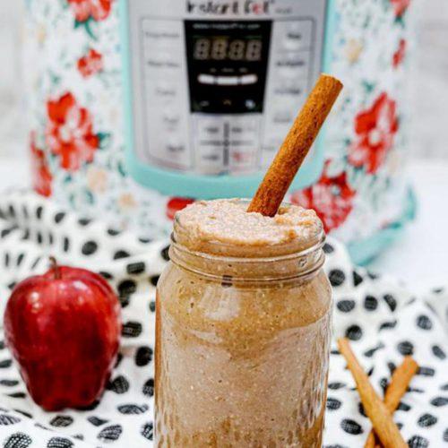BEST 3 Ingredient Instant Pot Applesauce
