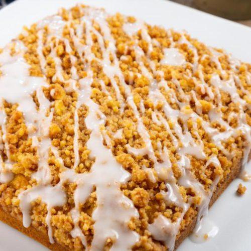 BEST Pumpkin Coffee Cake Recipe - {EASY} Pumpkin Streusel Coffee Cake Idea